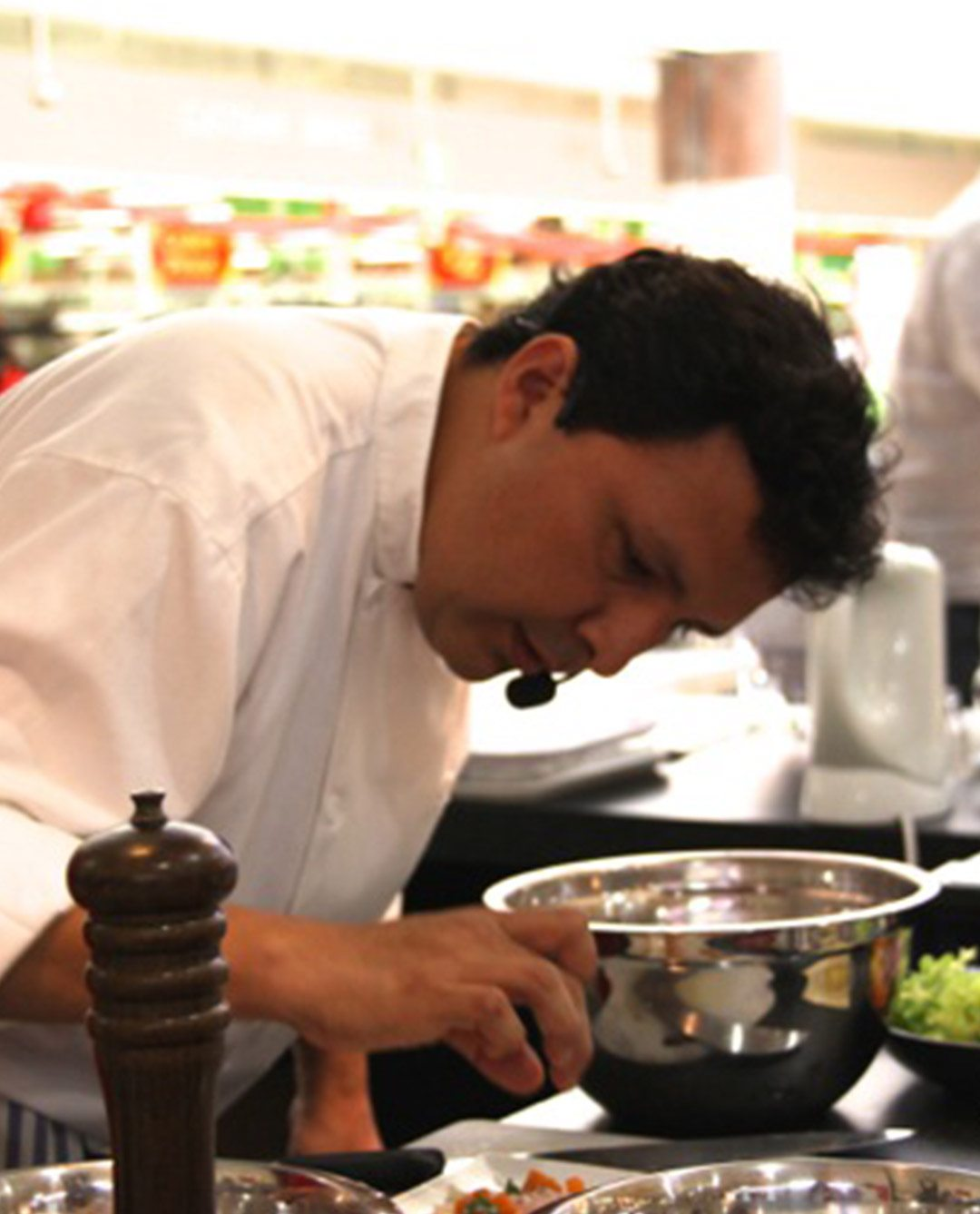 Jorge Chacon (chef) at Rhythyms Colours Flavours of Peru